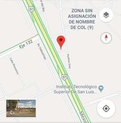 Terreno En Venta A Pie De Carretera 57, San Luis Potosi