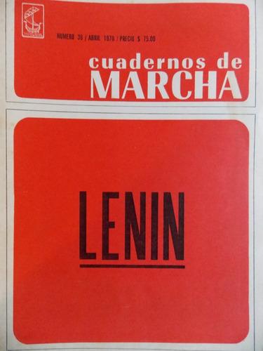Cuadernos De Marcha Nº 36, 1970, Lenin ,3ce5