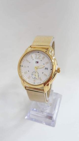 Elegantes Relojes Tommy Hilfiger De Dama