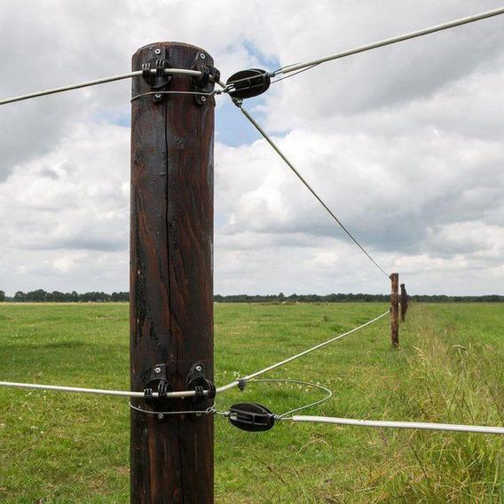 20 Isolador Pra Cerca Elétrica Rural E Residencial