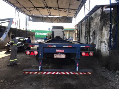 Imagem 1 de 8 de Carreta Porta Container 2005 Fachinni