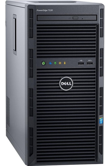 Servidor Dell Poweredge T130 Xeon 16gb Hd 2x1tb Novíssimo