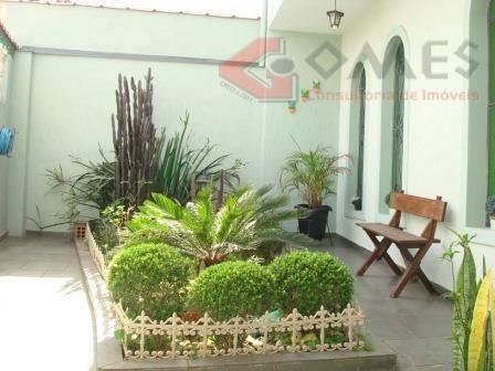 Sobrado Com 3 Dormitórios À Venda, 162 M² Por R$ 485.000 - Jordanópolis - São Bernardo Do Campo/sp - So0056