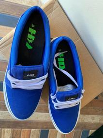 Tênis - H D Recortes - Azul