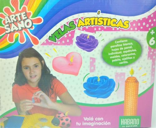 Set Velas Artisticas Juego De Arte Crear Artesano Habano Ful