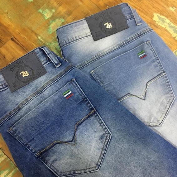 Calça Jeans Masculina Diesel Original Skinny Com Elastano