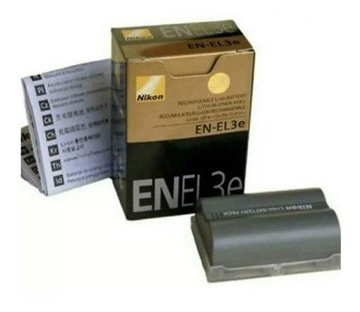 Bateria En-el3e P Nikon D50 D70 D80 D90 D100 D200 D300 D300s