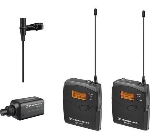 Micrófono Y Lavalier Inalámbrico Sennheiser Ew 100 Eng G3