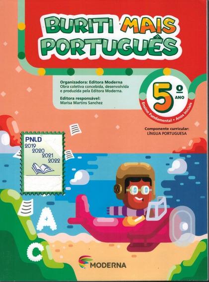 Livro Buriti Mais Português (5.o Ano) - Marisa M. Sanches