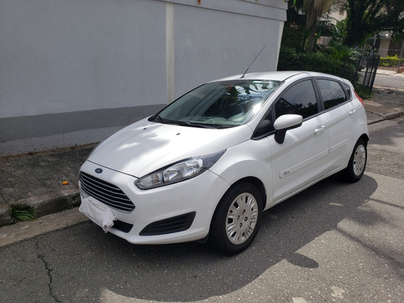 Ford Fiesta 1.5 16v Flex 4p Manual Branco Up Gol Palio Celta