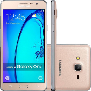 Celular Samsung Galaxy On 7 8gb Usado Seminovo Excelente