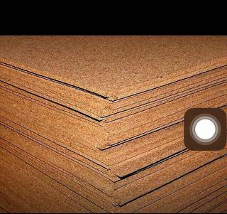 Plancha De Corcho 5x1000x1000mm Certificada