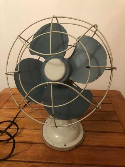 Ventilador De Mesa - Retro - Vintage - Funcionando