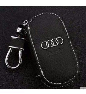Chaveiro Porta Chave Couro Audi A3 A4 S-line A6 A8 S5 S6 Rs4