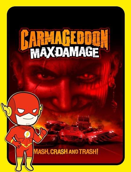 Carmageddon Max Damage Pc - Steam Key (envio Flash)