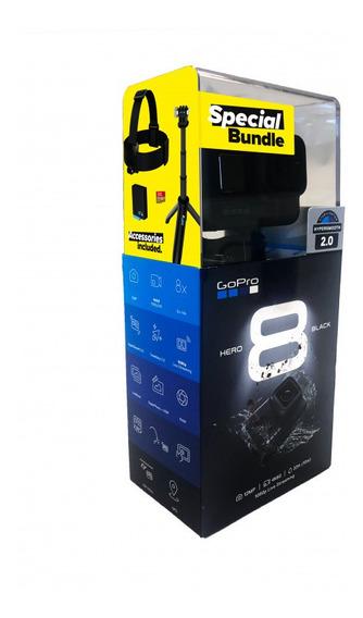 Camera Gopro Hero 8 Kit Black 4k Special+ Kit Original Gopro