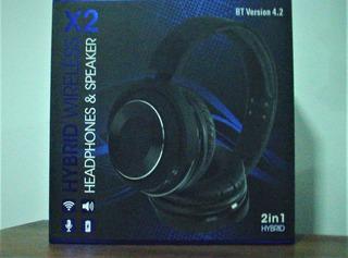 Auricular Híbrido Bluetooth 2en 1