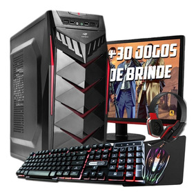 Pc Gamer Novo Completo + Placa De Vídeo 2gb Mon.17