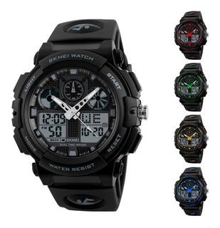 Reloj Skmei 1270 S Shock - Sumergible - Deportivo - Dual