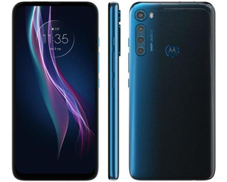 Smartphone Motorola One Fusion+ 6.5 128gb 64mp - Azul Indigo