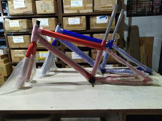 Cuadro Para Bicicleta Rin 20 De Hierro