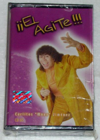 Carlitos Mona Jimenez El Agite Cassette Sellado / Kktus