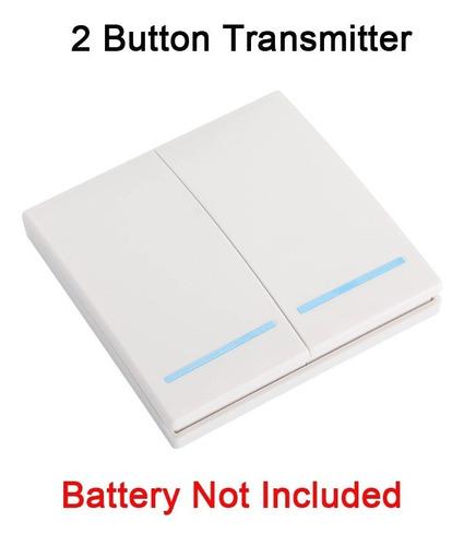 Interruptor Panel Transmisor Rf433mhz Control Luz Inalambric