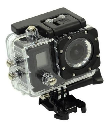 Câmera Esportiva Quanta Qtsc502 Ultra Hd De 16mp 2 Telas Com