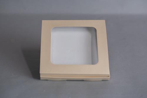 Caja Con Ventana 20x20x2 Cm (x 50 U.) Cookies Pañuelos - Bauletto