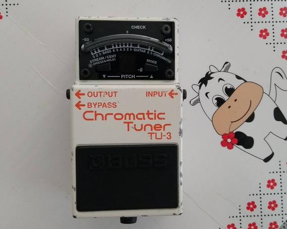 Pedal Boss Tu-3 Chromatic Tuner - Afinador Cromático Para Guitarra E Contra-baixo.