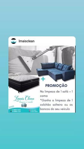 Imagem 1 de 1 de Limpeza E Higienização De Sofás, Colchões,bancos De Carro