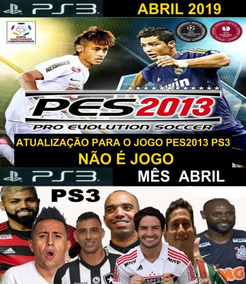 Patch Pes 2013 Ps3 Abril 2019 Dlc 6.0 Konami