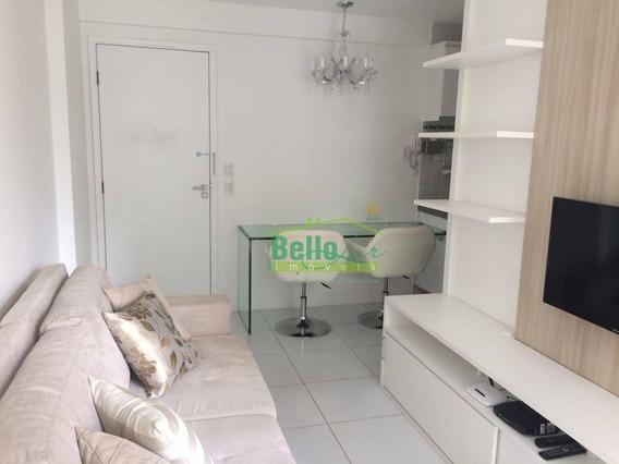 Flat Com 1 Dormitório À Venda, 34 M² Por R$ 230.000,00 - Parnamirim - Recife/pe - Fl0044