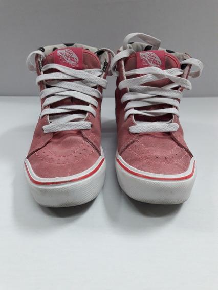 Zapatillas Vans Sk8 Niña Us Kids 12.5 Muy Buen Estado !!!
