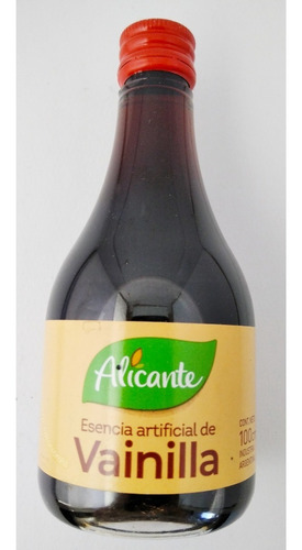 Alicante Esencia Artificial De Vainilla Sin Tacc 100 Ml