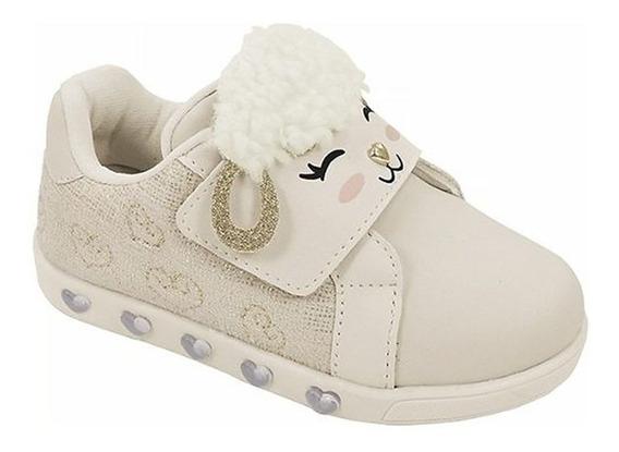 Tênis Infantil Pampili Ovelha Sneaker Luz 010421