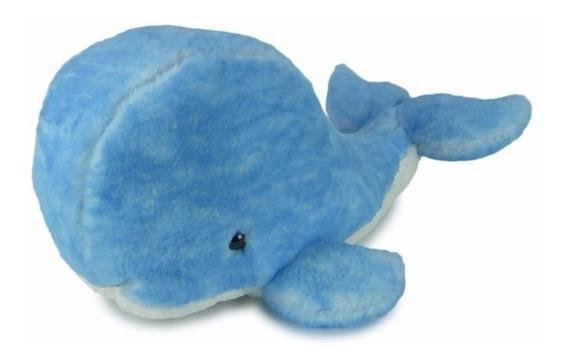 Baleia De Pelúcia Azul Média - Fundo Do Mar