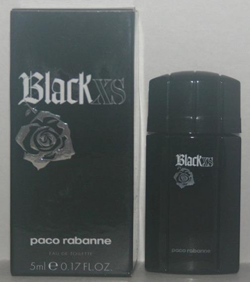 Miniatura De Perfume: Paco Rabanne - Black Xs - 5 Ml - Edt