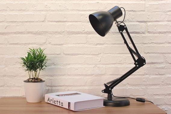 Lámpara De Escritorio Mesa Oficina Luz Led