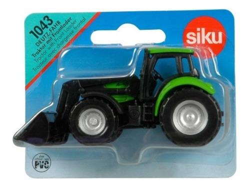 Tractor Con Carga Frontal- Siku Serie 10 1/87 H0
