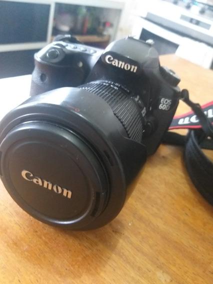 Câmera 60d Canon Lente 1818-135mm
