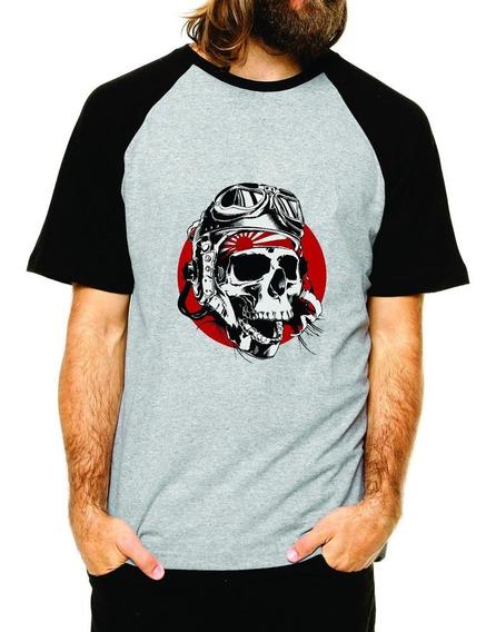 Camiseta Caveira Kamikaze Camisa Caveira