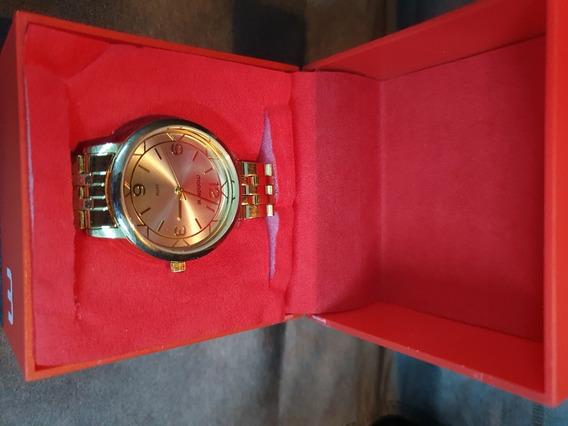 Relógio Mondaine Feminino Dourado Rl-5025-2