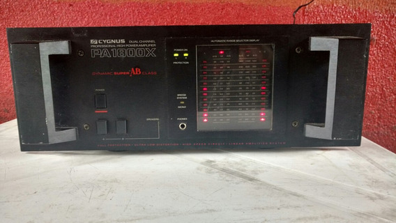 Amplificador Cygnus Pa-1800x