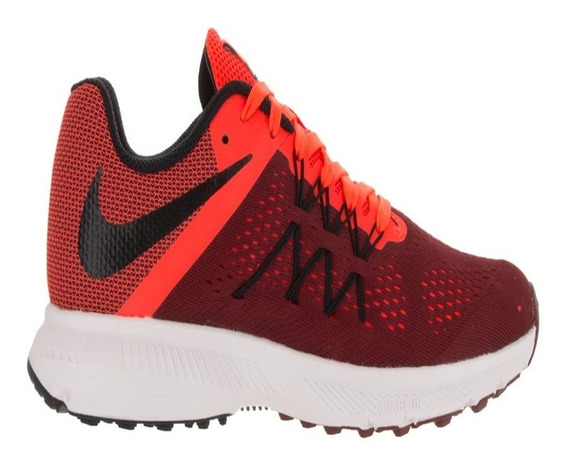 Tenis Nike Zoom Winflo Vermelho Original