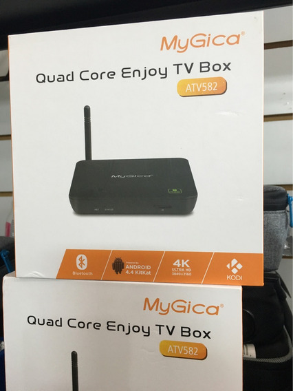 Mygica Atv582 - Wi-fi Quad Core Tv Box 4k Bluetooth Kodi