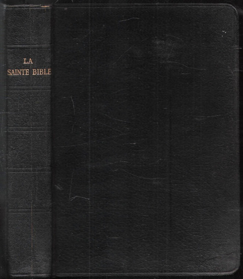 La Sainte Bible - Louis Segond - 1958 - Bordas Douradas