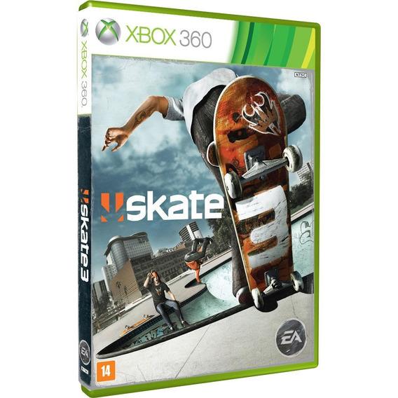 Skate 3 Xbox 360 Original Lacrado Com Nf