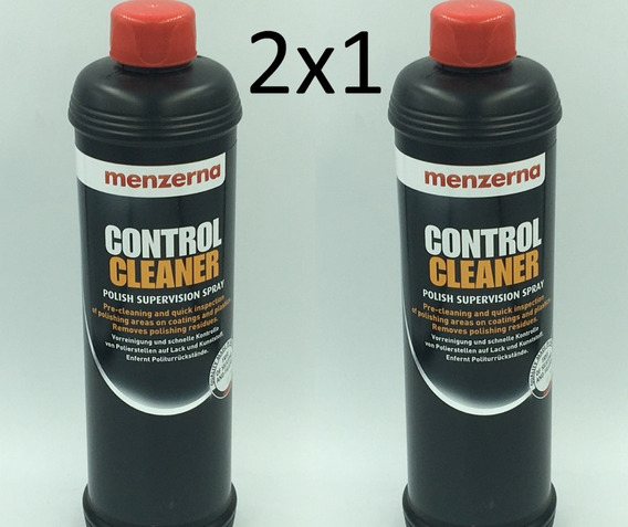 Oferta 2x1 Preparacion Pulir Menzerna Control Cleaner 500ml