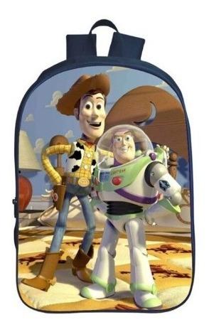 Mochila Infantil Crianças Toy Story Wood Buzz Lightyear